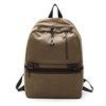 School Backpack trendy New Hot Fashion Vintage Canvas Backpack New Arrival Men's Backpacks Mochilas Classic For Student Laptop Backpack School Bags Sac AT_54_4