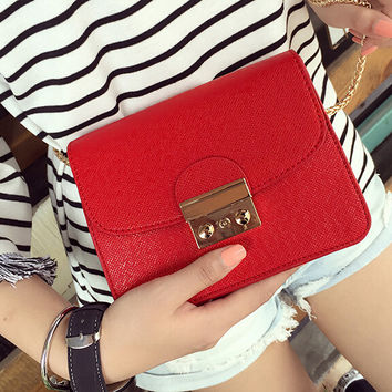 Womens Fashion Leather Shoulder Bag Female Casual Crossbody Bag Women Messenger Bags Chic Handbag Gift 07