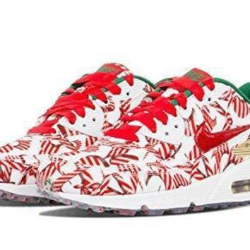 Nike Women's Wmns Air Max 90 QS, CHRISTMAS SHOES, SNEAKERS (813150-101) womens nike a