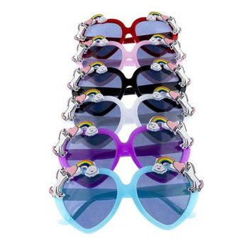 Fairytale Dreams Kids Heart Shape Sunglasses