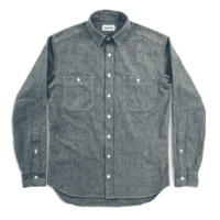 Taylor Stitch California in Charcoal Chambray