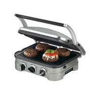 Cuisinart GR-4N Electric Grill Panini Stainless Steel | Cuisinart