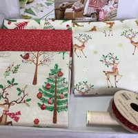 One-Off Deluxe Gift Box - Traditional Christmas - My Sewing Box