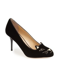 "Women's Charlotte Olympia 'Kitty' Pump, 3"" heel"