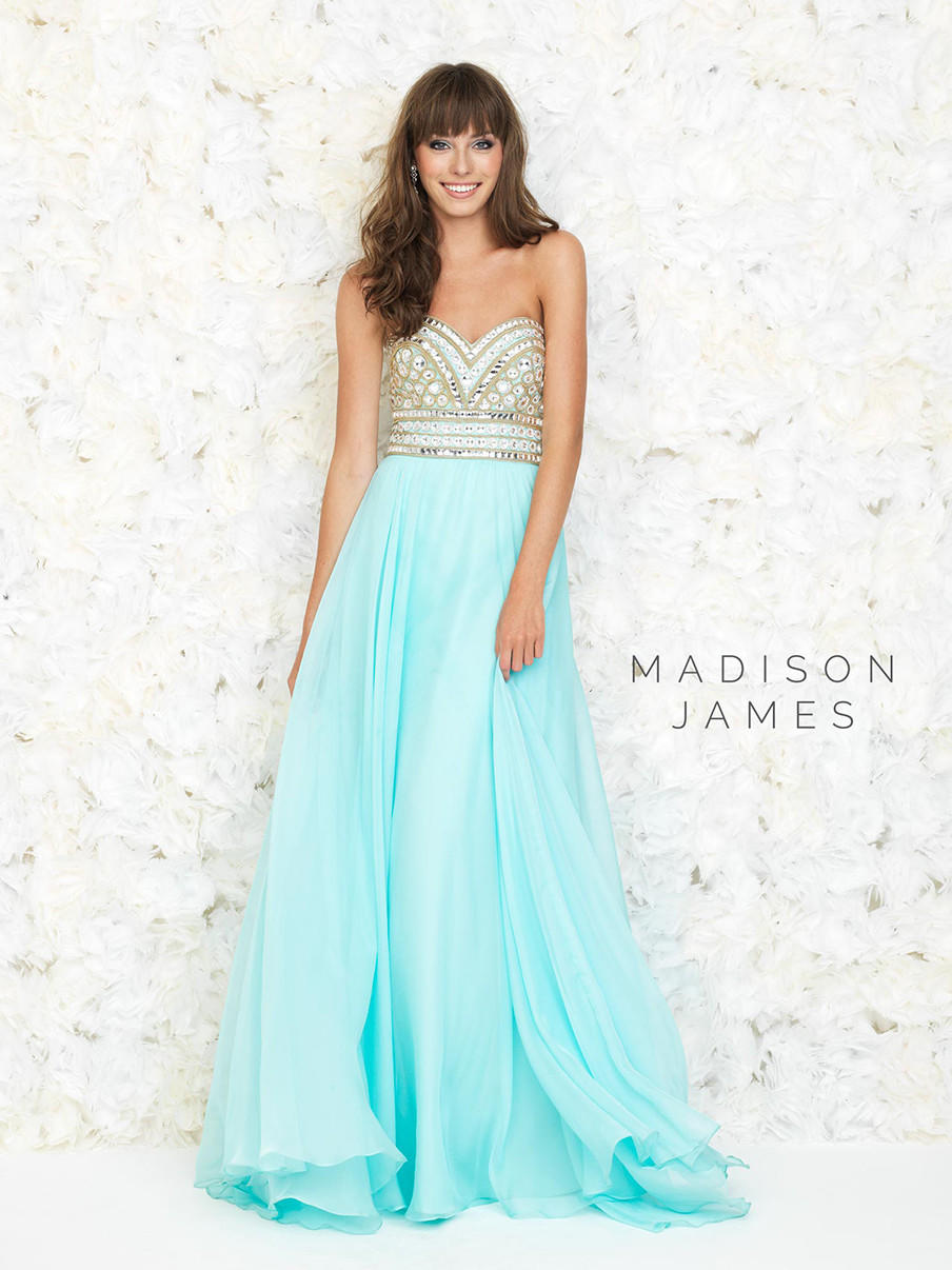 Madison James 15-116 Grecian Prom Dress from myprimabella | prom