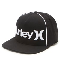 Hurley 110 Only Corp Snapback Hat - Mens Backpack - Black - One