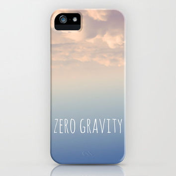 zero gravity iPhone Case by noirblanc777