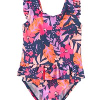 OshKosh Floral Peplum One Piece