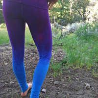 everyday ombre yoga leggings