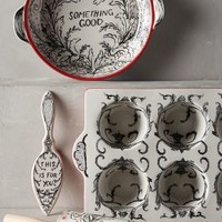 Crowned Leaf Bakeware by Molly Hatch Red