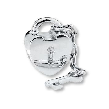 PANDORA Charm Key to My Heart Sterling Silver