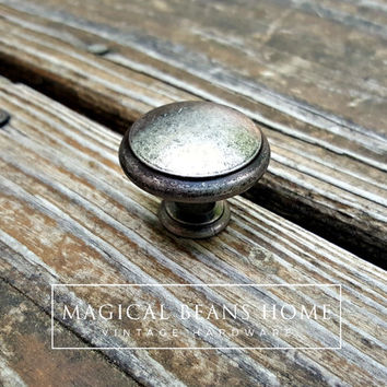 Farmhouse Decor Country Farmhouse Furniture Knobs Rustic Drawer Pulls Weathered Silver Knobs Cabinet Knobs Dresser Knobs Furniture Hardware