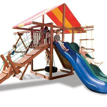 Playnation The Big Top Wooden Swing Set