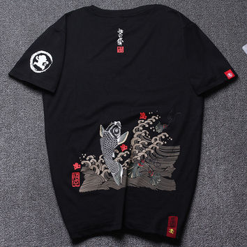 Print Short Sleeve T-shirts [10630014339]