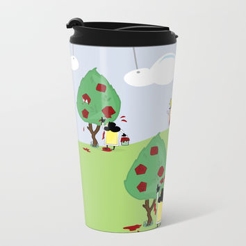 Off with Her Head! Metal Travel Mug by lalainelim