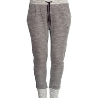 H&M - H&M+ Sweatpants - Black - Ladies
