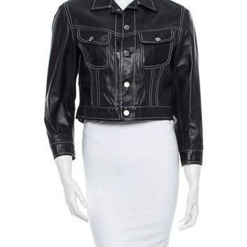 Ralph Lauren Collection Leather Jacket