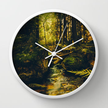 Klondike Wall Clock by HappyMelvin
