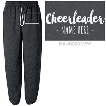 Custom Name Cheer Sweats
