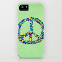 Peace Out iPhone & iPod Case by Shawn King