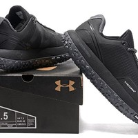 Under Armour Men's UA Overdrive Fat Tire Hiking Boots - All Black Color Size US 7-11