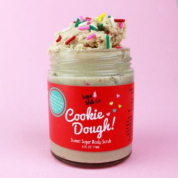 Vanilla Cake Cookie Dough Body Scrub