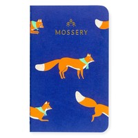 Jumping Foxes Pocket Notebook
