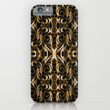 Floral Wrought Iron G14 iPhone & iPod Case by MedusArt