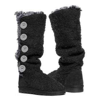 jcpenney | MUK LUKS® Malena Crochet Button-Up Womens Tall Boots
