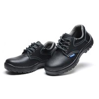 MENS' Work Safety Shoes Boots Cow Leather Smash-proof Penetration-resistant 024