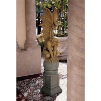 SheilaShrubs.com: Talysus, The Terrible Gargoyle Sculpture NG33747 by Design Toscano: Garden Sculptures & Statues
