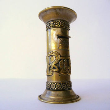 Vintage Brass Toothpick Dispenser - Post Image