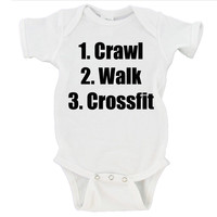 Crawl Walk Crossfit Gerber Onesuit ®