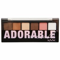 NYX Shadow Palette, The Adorable Adorable