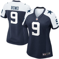 Women's Dallas Cowboys Tony Romo Nike Game Jersey