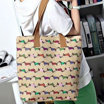 Dachshund Shoulder Bags, Totes, Backpack,Clutches, 8 Colors. Fashion Handbags Free Shipping!