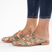 Free People: Brocade At East Loafer in White
