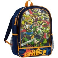 Nickelodeon Teenage Mutant Ninja Turtles 16'' 3D Front Pocket Kids Backpack - Walmart.com