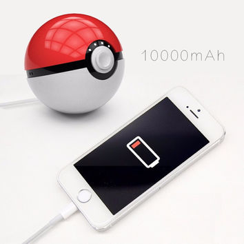 Pokemon Go PokeBall Power Bank Charger