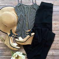 Miss Hollywood Maxi Skirt in Black