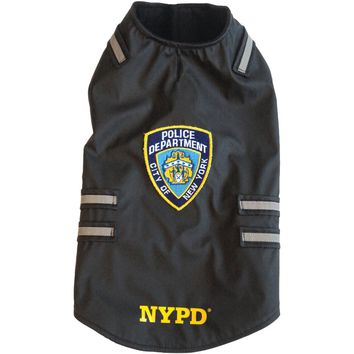 Royal Animals Nypd Dog Vest With Reflective Stripes (x-large)