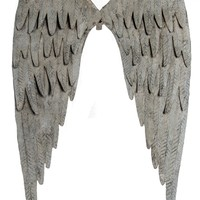 Vintage Angel Wings - Wall Decor 14-1/2-in