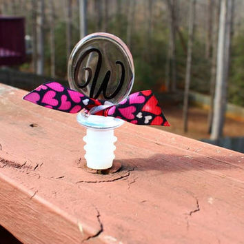 Personalized Acrylic Wine Stopper