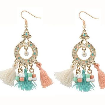 Mexico Tassel Earrings