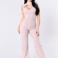Art Of Persuasion Jumpsuit - Light Lavender