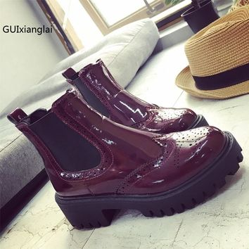 Rubber Boots 2017 Fashion Waterproof Trendy Jelly Women Ankle Rain Boot Elastic Band Solid Color Rainy Shoes Women Free Shipping