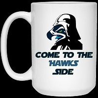 Seattle Seahawks Come To The Hawks Side 21504 15 oz. White Mug
