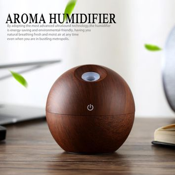 New Portable Mist Maker Aroma Essential Oil Diffuser LED Lights Ultrasonic Aroma air Humidifier USB Diffuser For Home Office