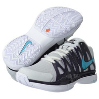Nike Zoom Vapor 9 Tour Pure Platinum/Purple Dynasty/Gamma Blue - Zappos.com Free Shipping BOTH Ways