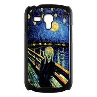 Tardis Doctor who screaming man samsung galaxy s3 mini case cover